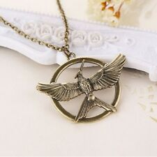 Pendant mockingjay open wings Games of Hunger in flames