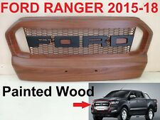 Ford Ranger T6 XLT Front Grille Grill PARTS STYLE Painted Wood 2015-2018 Limited