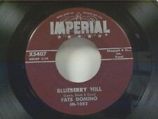 "FATS DOMINO ""BLUEBERRY HILL / HONEY CHILE"" 45"