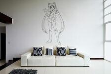 Wall Vinyl Sticker Decal Anime Manga Sailor Moon Girl VY196