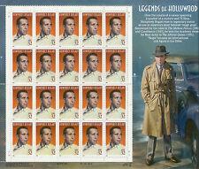 Briefmarken USA  Hollywood Legenden Humphrey Bogart  Kleinbogen  postfrisch