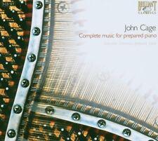 COMPLETE MUSIC FOR PREPARED PIANO 3 CD NEU CAGE,JOHN