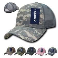 e0eaf32617f 1 Dozen Decky Structured Camo Camouflage Trucker Baseball Caps Hats  Wholesale