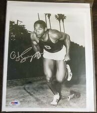 OJ Simpson Autographed USC prior to the NFL and murder PSA/DNA COA/hologram