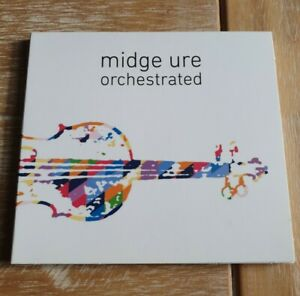 Midge Ure - Orchestrated -  Ultravox - 2017 CDFREE UK POSTAGE