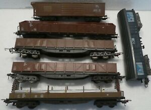 6 x  LIMA  GRAVEYARD LOT OF FREIGHT CARS  NO BOX CHECK PICTURES