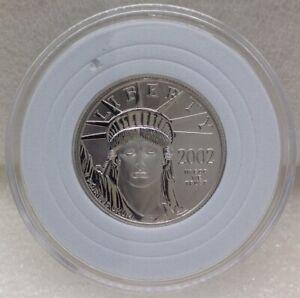 2002 $50 American Platinum Eagle 1/2 oz. Coin .9995 Platinum BU