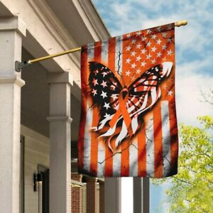 Multiple Sclerosis Awareness House And Garden Flag Home Yard Decor 2021