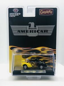 M2 Machines 1941 Willys Coupe Americar Hobby Exclusive New 2021 Release
