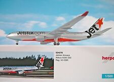 Herpa Wings 1:500 Airbus a330-200 JetStar Vías respiratorias vh-ebr 524278