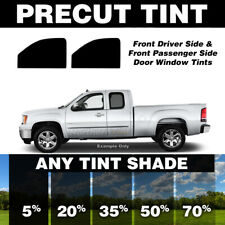 Precut Window Tint for Chevy 1500 Extended Cab 88-98 (Front Doors Any Shade)