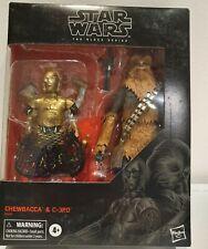 *NEU* CHEWBACCA & C-3PO - STAR WARS BLACK SERIES HASBRO -  EXCLUSIVE vintage