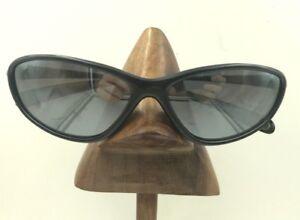 Vintage Julbo Light 043 1 14 Dark Blue Metallic Sport Sunglasses Frames France
