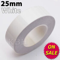 "25mm x 9.8m PinStriping Pin Stripe Coachline Tape Vinyl Decal Sticker 1"" White"