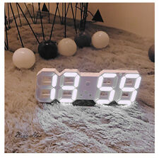 Fashion Digital Clock Wall Hanging Clock Electric Clocks Home Decoration