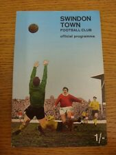 16/04/1968 Swindon Town v Oxford United (Creased). Any faults with this item ha
