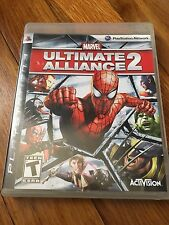 Marvel: Ultimate Alliance 2 PS3 W/Manual (original replacement case) NO GAME