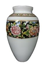 "Wedgwood Clio Bouquet Vase 9"" Bone China England Mint"