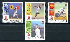Kiribati 2008 MNH Beijing Olympics Cycling Javelin Weightlifting 4v Set Stamps