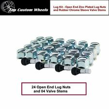 C1311BH34 Wheel Installation Kit Open End Lug Nuts M14x2.0 fit Expedition 00-14
