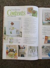 Cross Stitcher Mag Gift 290 April 2015 Contents on Photos Geisha Easter 60s