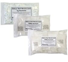 More details for silica gel sachets tyvek desiccant pouches 1g 5g 10g 25g 50g 100g 250g 500g