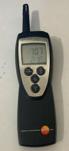 Testo 625 Thermo-Hygrometer handheld temperature and relative humidity meter