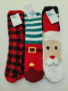Hanna Andersson Men's OS NEW NWT Cozy Socks Holiday RM1-793