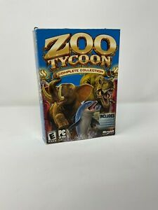 Zoo Tycoon: Complete Collection (PC, 2003) COMPLETE IN BOX