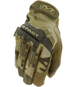 MECHANIX M-PACT TACTICAL GLOVES TOUCH-SCREEN COMPATIBLE MULTICAM SIZES MED-XXL