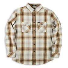 MATIX Scheme Flannel Shirt (L) Natural