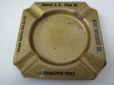 Ashtray Case Machinery Berry Implement Co. Skelly Gas & Oil Delmont South Dakota