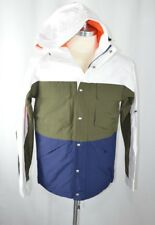 NWT Penfield Men's Greylock Colorblock Zip Hooded Jacket Sz L LargeGreen Blue