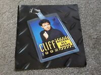 Cliff Richard Access All Areas 1992 Tour Programme with Flexi disc
