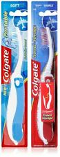 2 PACK COLGATE FOLDING PORTABLE SOFT TOOTHBRUSH VARIOUS COLOURS HOLIDAY TRAVEL