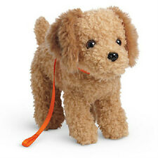American Girl Doll McKenna's Dog Cooper + Leash Without Box Goldendoodle