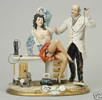 """Capodimonte porcelain """"THE Doctor and the Patient"""""""