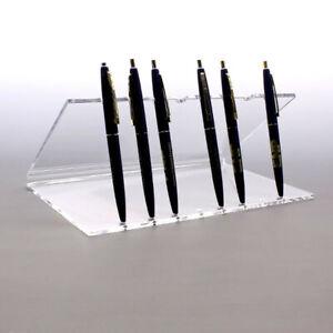 Clear Acrylic Multi Pen Holder For Desks