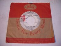 PROMO w SLEEVE Carmen McRae Oh Look at Me Now / Very Thought of You 1960 45rpm