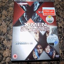 DVD XMEN SPECIAL EDITION DOUBLE PACK   USED
