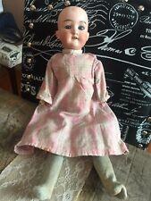 Estate Antique German Doll Armand Marseille 390 M 24 0 1/2 M Unusual Body
