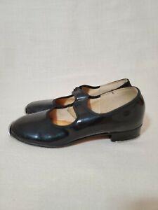 BeiBestCoat Beginner Tap Dance Shoe-Jazz Tap Dacncing Shoes for Girls,Boys Black Size Toddler,Little Kid