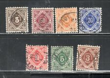 GERMANY GERMAN COLONIES USED   STAMPS    LOT 22921