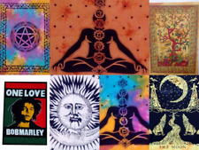 20Pc Cotton Mandala Wall Hanging Tapestry Poster Bulk Hippy Hippie Wholesale Lot