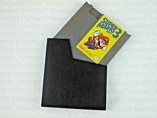 Vintage Super Mario Bros 3 NES Grey Cartridge Game Sleeve Nintendo Used 1985