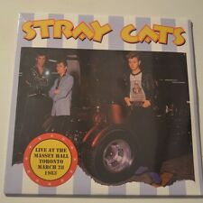 STRAY CATS - MASSEY HALL, TORONTO 1983 - 2015 2LP LTD EDITION