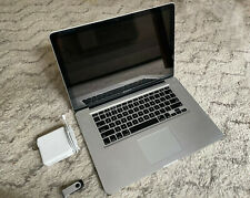"Apple MacBook Pro A1286 Mid 2009 15.4"" 2.8 GHz Core 2 500 GB SSD 8GB RAM DVD-R"