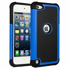 For Apple iPod Touch 5 6 Gen - Hybrid Impact Shock Proof Hard Back Case Cover