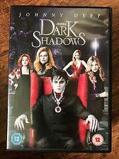 JOHNNY DEPP Dark Shadows ~ 2012 TIM BURTON GÓTICO GOTH Comedia GB DVD