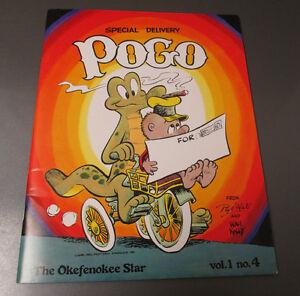 1979 Waly Kelly POGO Okefenokee Star v.1 #4 VF/NM